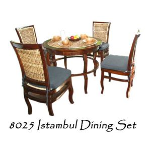 Istambul Wicker Dining Set