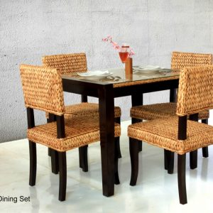 Merlin Wicker Dining Set