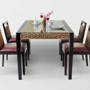 Bastian Wicker Dining Set