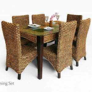 Anita Wicker Dining Set
