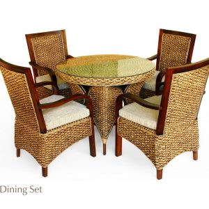 Cantello Rattan Dining Set