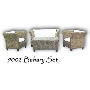 Bahary Wicker Living Set