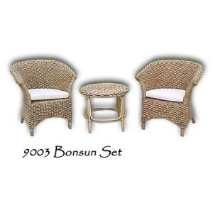 Bonsun Wicker Living Set