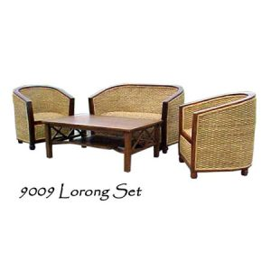 Lorong Wicker Living Set