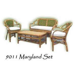 Maryland Rattan Living Set