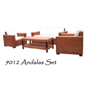 Andalas Rattan Living Set
