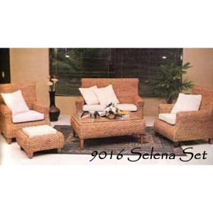 Selena Wicker Living Set
