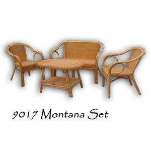 Montana Rattan Living Set