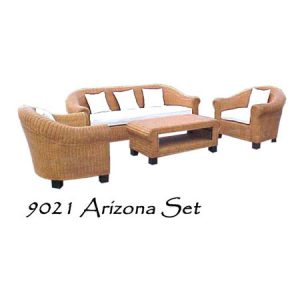 Arizona Wicker Living Set