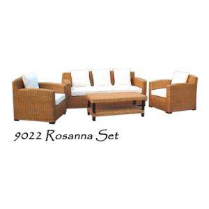 Rosanna Rattan Living Set