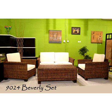 Beverly Wicker Living Set