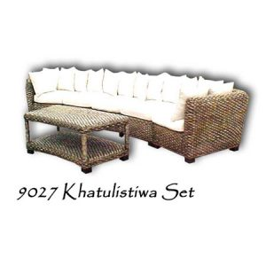 Khatulistiwa Wicker Living Set