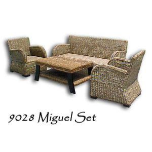 Wicker Living Set