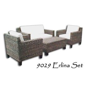 Erlina Rattan Living Set