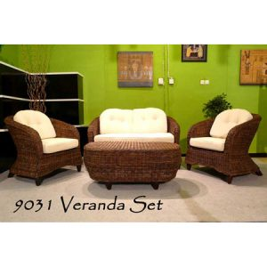 Veranda Wicker Living Set