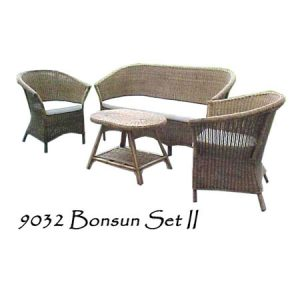 Bonsun Rattan Living Set II