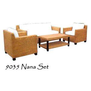 Nana Rattan Living Set