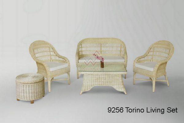 Torino Rattan Living Set