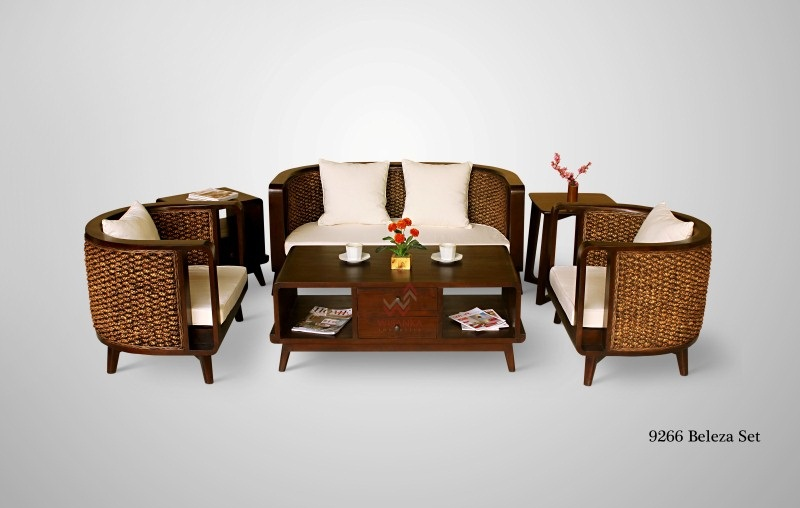 Beleza Wicker Living Set   Indonesia Rattan Furniture ...