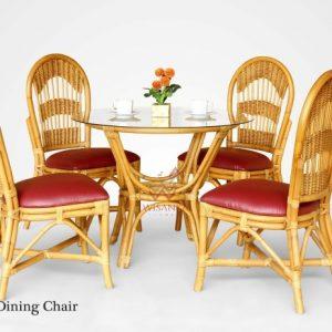 Aru Rattan Dining Set