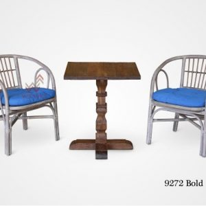 Bold Rattan Chair Modif With Jordy Table