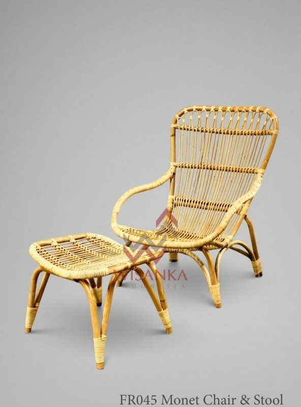 Natural cane furniture