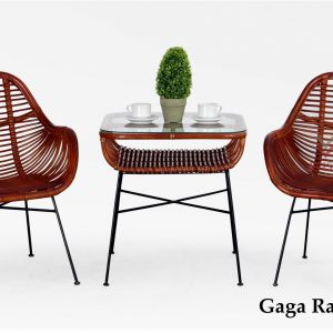 Gaga Rattan Terrace Set