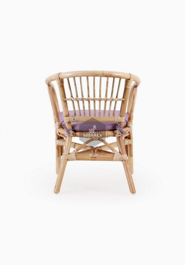 Jimmy Rattan Kids Chair Natural