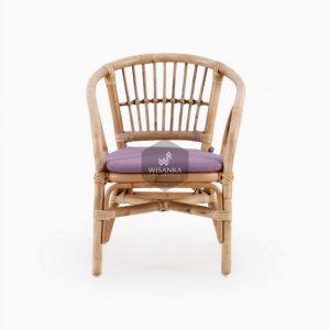 Jimmy Rattan Kids Chair Natural