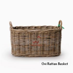 Ovi Kubu Basket With Handle