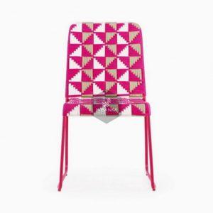 Kora Wicker Dining Chair Multistrips
