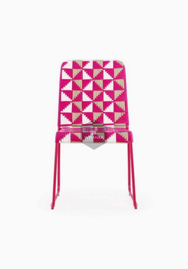 Kora Wicker Dining Chair Multistrips