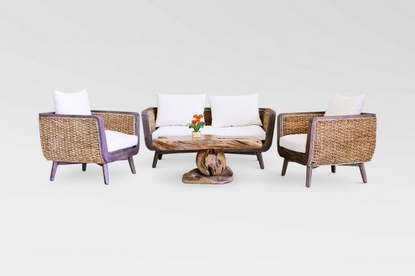 Belladona Wicker Living Set