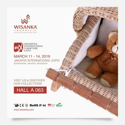 Wisanka Indonesia IFEX 2019 Rattan Kids Furniture