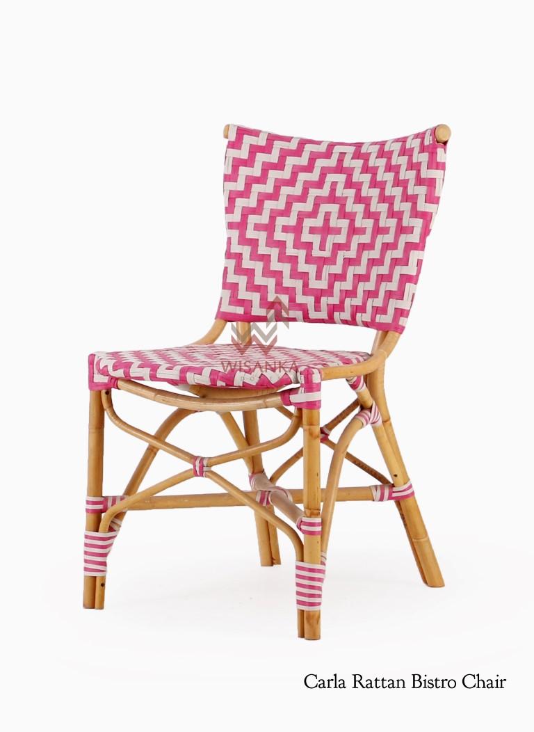 Carla Rattan Bistro Chair | Indonesia Rattan Furniture | Wicker Furniture |  Rattan Kids Furniture