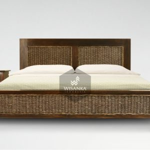 Kaloka Rattan Bed Set