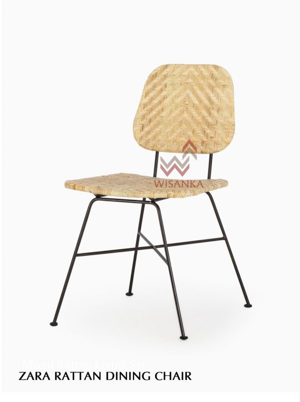 Zara Rattan Dining Chair