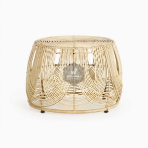 Somerset Rattan Round Table