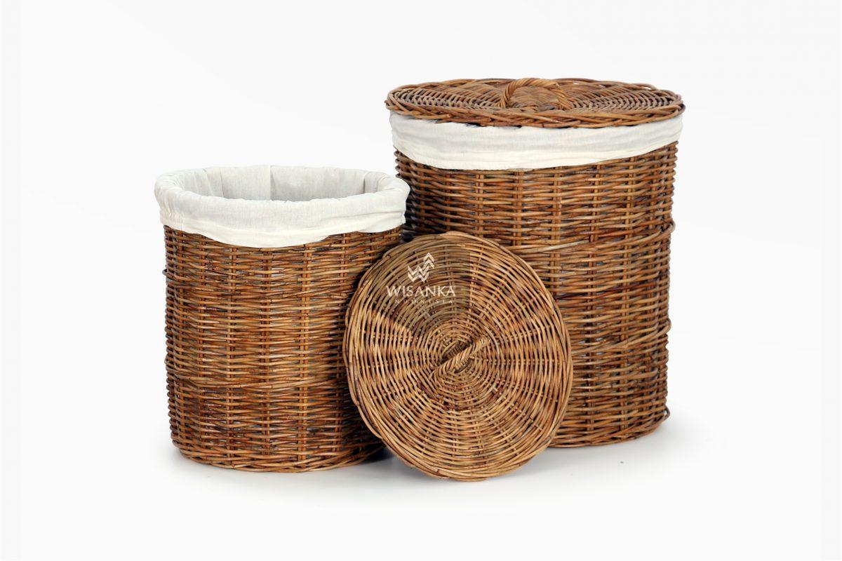 Cilinder Round Laundry Basket