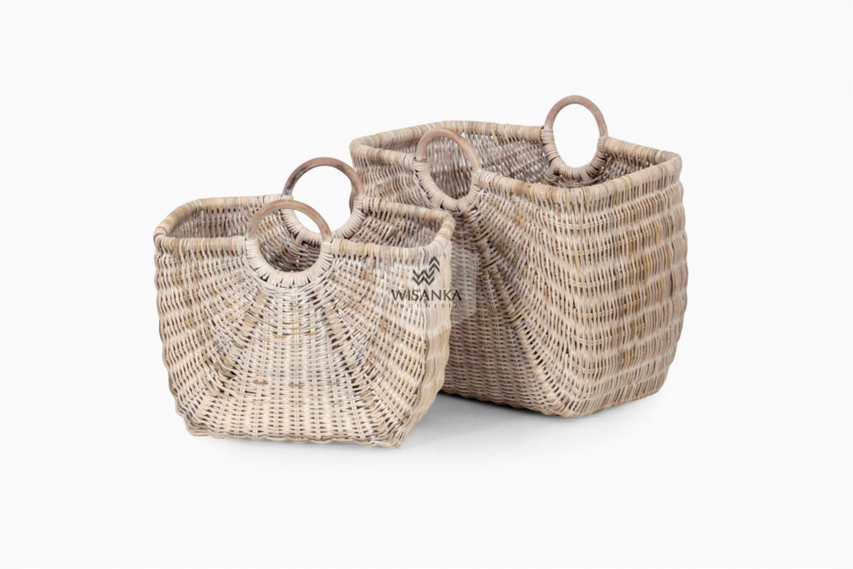 Elise Magazine Basket Set of 2 For Web