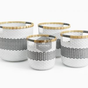 Fara Wikcer Basket Set of 4