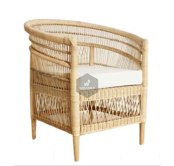Moroco Rattan Arm Chair Natural