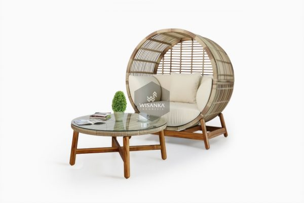 Orza Rattan Daybed