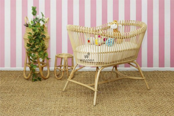 Rattan Bassinet | Indonesia Rattan Furniture