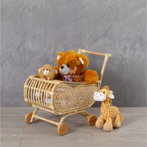 Lisa Rattan Doll Pram | Indonesia Rattan Furniture
