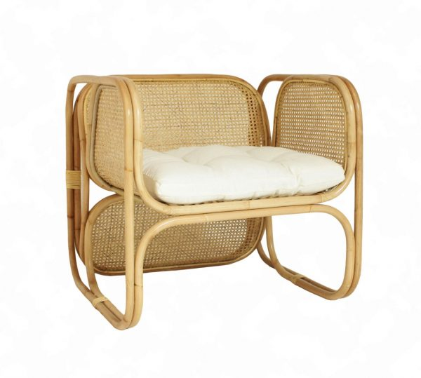 Fanie Rattan Arm Chair