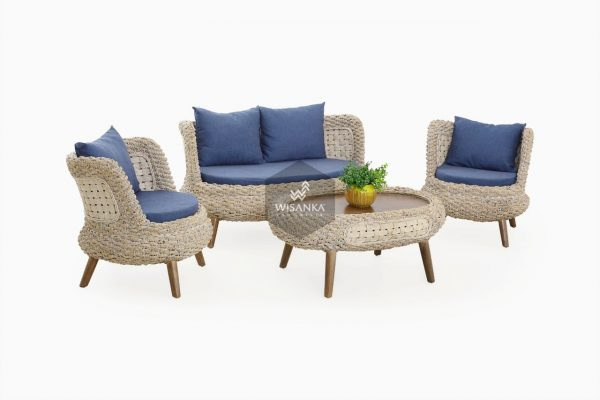 Morissa Rattan Living Set