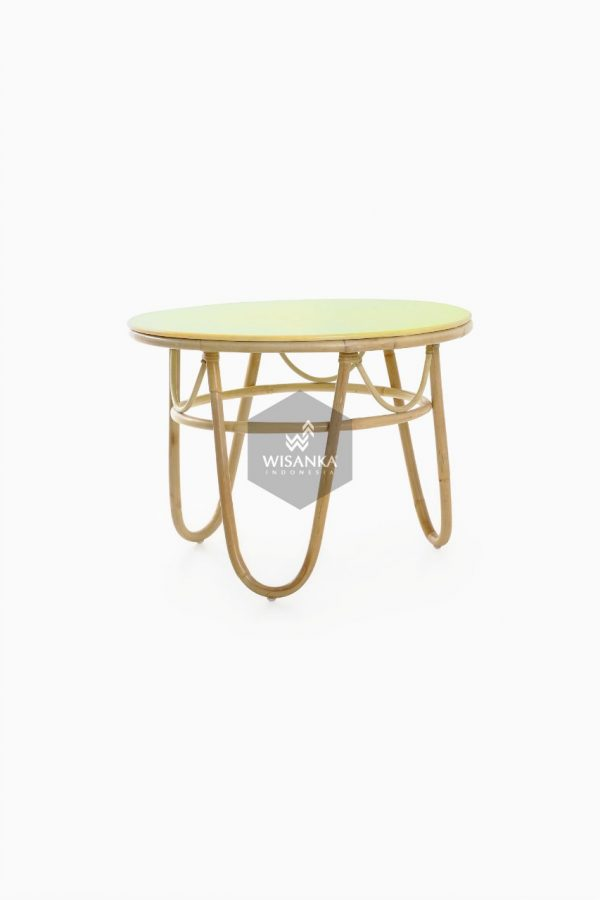 Suka Kids Rattan Round Table