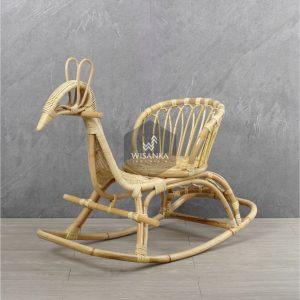 Tora Rattan Animal Rocker