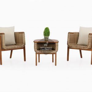 Arka Rattan Patio Set